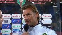Herve RENARD _ Maroc 1-0 Tunisie_ Amical _ Déclarations d'après-match