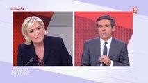 """Salut amical ou salut nazi ? La colère de Marine Le Pen sur France 2 : """"Ce sont des méthodes de voyous"""""""