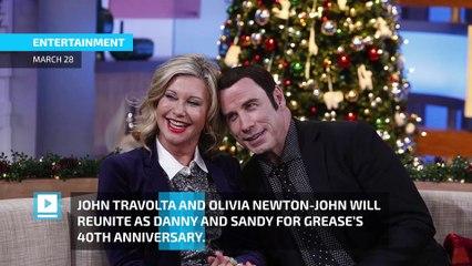 Grease is the word: John Travolta and Olivia Newton-John