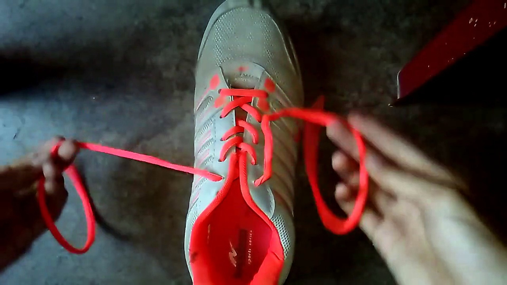 How to tie Shoe Lace in 0.80 Second