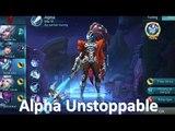 Gánh team cùng Vũ khí tối thượng Alpha - Mobile Legends Alpha MVP Build   Alpha Best Build?