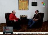 Cruce de palabras: Conversamos con Adán Coromoto Chávez Frías