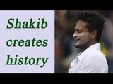 Shakib Al Hasan hits 217, highest ever Test score for Bangladesh | Oneindia News