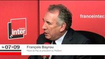 """François Bayrou sur son ralliement à Emmanuel Macron """"J'ai vérifié auprès d'Emmanuel Macron qu'il faisait une séparation nette entre l'argent et le pouvoir politique"""