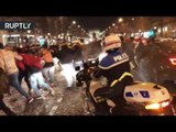 French Celebration: Football fans go ballistic over PSG destruction of Barcelona