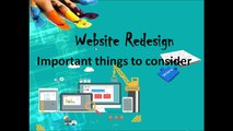 Website Re-design Process -  Important things to consider | Web Design & Development Company