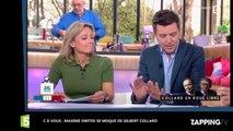 Gilbert Collard : C à vous se moque de l'homme politique après son clash avec Guillaume Durand (vidéo)