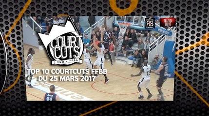Top 10 CourtCuts FFBB du 25 mars 2017