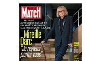 Mireille Darc : sa première interview choc après avoir frôlé la mort
