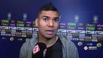 Casemiro elogia Tite e faz comparação com Zidane: 'Estou muito feliz com os dois'