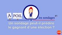 A POIL LES SONDAGES - Ep1 - Un sondage peut-il prédire le gagnant d'une élection?