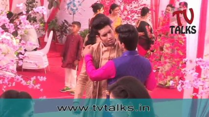 On set Of Ek Vivah Aisa Bhi | Sonali Nikam | Abhishek Malik 29th march 2017
