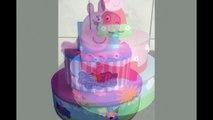 Ideias Bolos Fake Peppa Pig para festa infantil