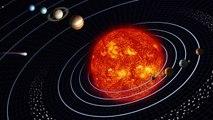 Sylvestre Maurice, astronome à l'Observatoire Midi-Pyrénées, défini et présente l'organisation du systèmes solaire