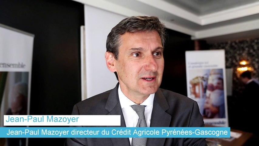 Jean-Paul Mazoyer, nouveau directeur du Crédit Agricole Pyrénées-Gascogne