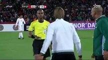 Le coup de gueule d'Hervé Renard envers l'arbitre, hier lors du match Maroc - Tunisie.