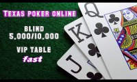 Video cara bermain texas poker online - vip table fast blind 5.000-10.000