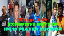 Top 10 expensive buys of IPL10 Player Auction