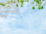 TreeFree Greetings cc33636 Retro Dots and Splots by Shell Rummel 16 Ounce Artful Traveler