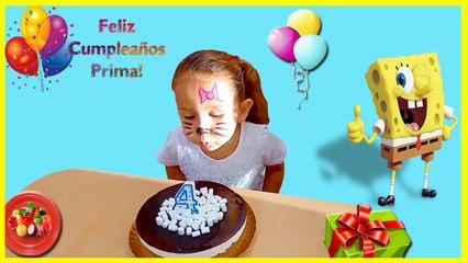 Eliana en el cumpleaños de su prima Yaneisy | Eliana on the birthday of her cousin Yaneisy