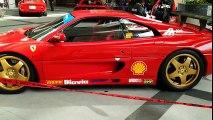 【 Ferrari F40 】エンジンスタート!!SUPER CAR RALLY CHALLENGE 2016 フェラーリ F40