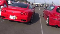 【 Ferrari 360 Spider】 【 Ferrari 550 】 【 BMW M3 】 2016/3/6 エコパ・サンデーラン