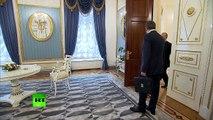 Vladimir Poutine a reçu Marine Le Pen à Moscou...