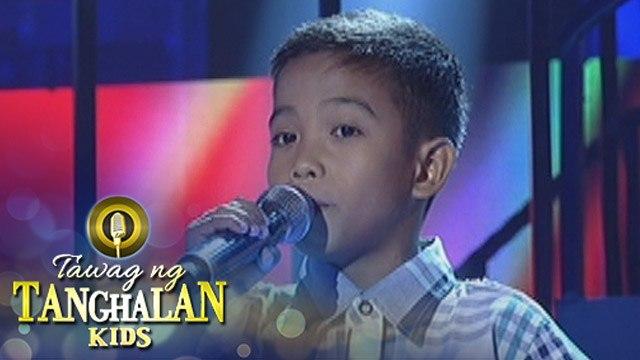 Tawag ng Tanghalan Kids: Alex Noleal | Titanium