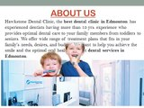 Hawkstone Dental Clinic | Best Dental Clinic Edmonton | West Edmonton Family Dentist