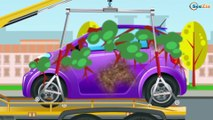 The Red Fire Truck - Emergency Vehicles - The Tow Truck - Cars & Trucks Cartoons for Children