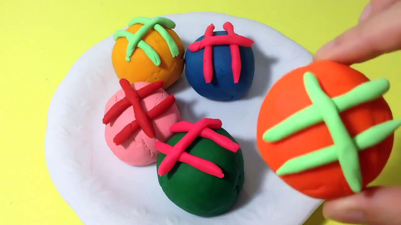 Play-Doh Cookies Surprise Egg! 789