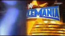 WWE WrestleMania 33 AJ Styles vs Shane McMahon (Official Match Card)