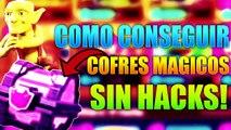 COMO CONSEGUIR COFRES MAGICOS EN CLASH ROYALE - NO HACKS - Link in Description