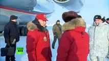 Vladimir Putin et Dmitri Medvedev ont apprécié le nettoyage des débris de l'Arctique