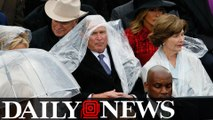 George W. Bush Called Trump's Inauguration 'Some Weird S--t'