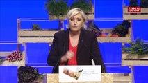 Le Pen face à la FNSEA