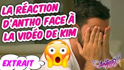 Les Anges 9  - La réaction de Antho face à la vidéo de Kim #épisode 39