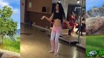 Güzel kızdan şahane göbek dansı