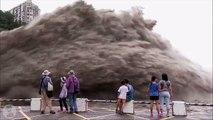 Dam collapse ¦¦ Water dam burst ¦¦ Dam water release ¦¦ Pressure ¦¦ Dam waterfall ¦¦ Crash Fails.