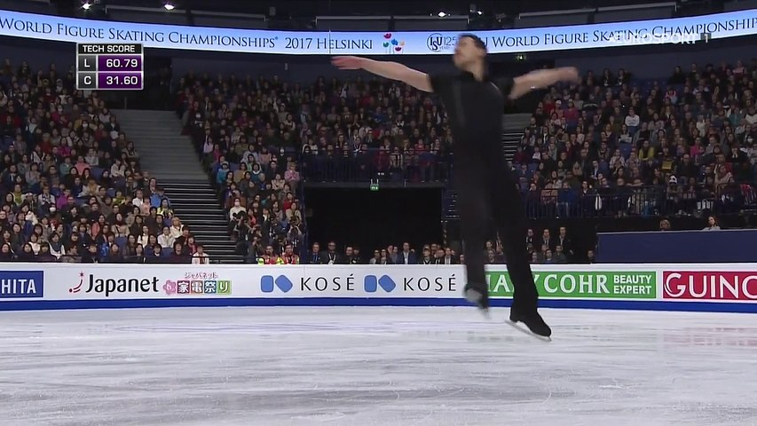 B.ESP(HD). Patrick CHAN SP - 2017 World Championships