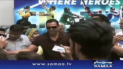 Go Nawaz Go Chants in Champions Trophy Ceremony in Karachi