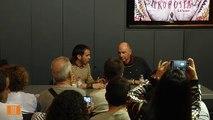 Cesk Freixas presenta amb Lluís Llach el seu nou disc a l'Espai VilaWeb