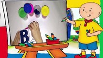 Caillou Playing Play Doh - Play D