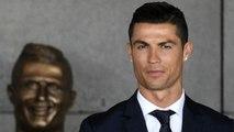 All'aeroporto di Madeira svelato il busto di Cristiano Ronaldo