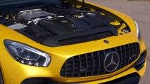 Mercedes-AMG GT C Roadster AMG Exterior Design in Solarbeam