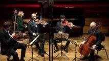 Chostakovitch : Quintette pour piano et cordes en sol mineur op. 57 par le Quatuor Danel et Claire Désert