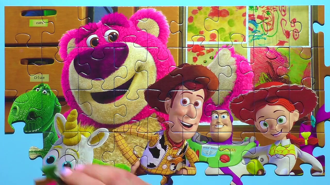 Learn Puzzle TOY STORY Potato Head, Woody999