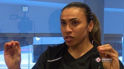Marta: Minha maior alegria foi a primeira medalha olímpica