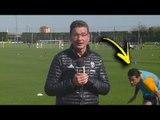 Daniel Alves dá susto ao vivo em apresentador da Juventus - Daniel Alves dà ospite spavento in diretta Juventus Football