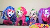 Spiderman vs Frozen Elsa vs Joker Squad! Jelly Bean Boozled! - Funny Superheroes-hHtMm6ak